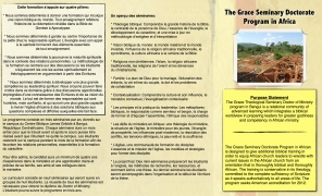 Missionary Informational Brochure